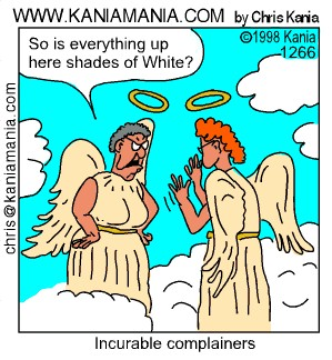 Light hearted spiritual cartoons